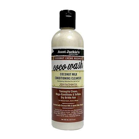 Aunt Jackie´s Coco Wash Shampoo Condicionante Sem Espuma 355ml