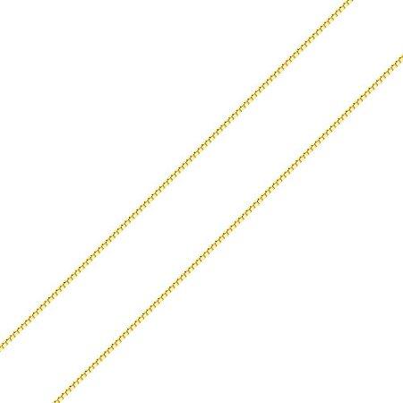 37e400d8aba24 Corrente de ouro 18k italiana veneziana - 0,5mm - PIzzolato Joias
