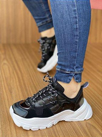 Tênis Sneaker Preto S5430