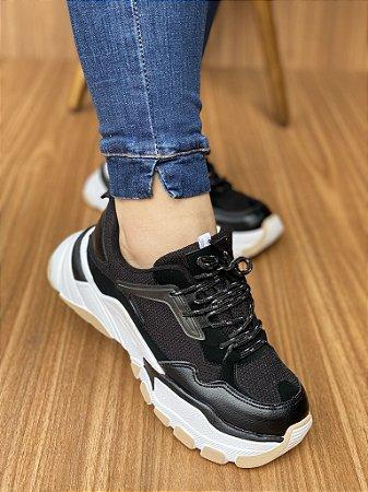 Tênis Sneaker Preto S5440