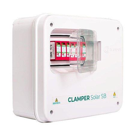 String Box 2e/2s Dps Disjuntor 1040v Clamper Solar Sb