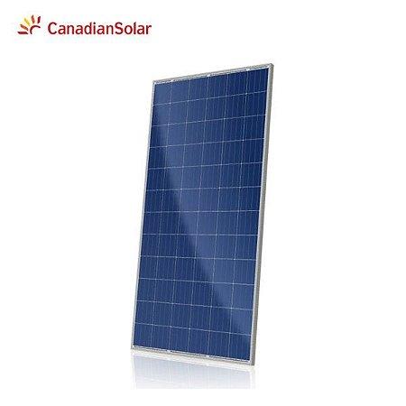 Módulo / painel / placa Solar Fotovoltaica 330w Canadian Policristalino
