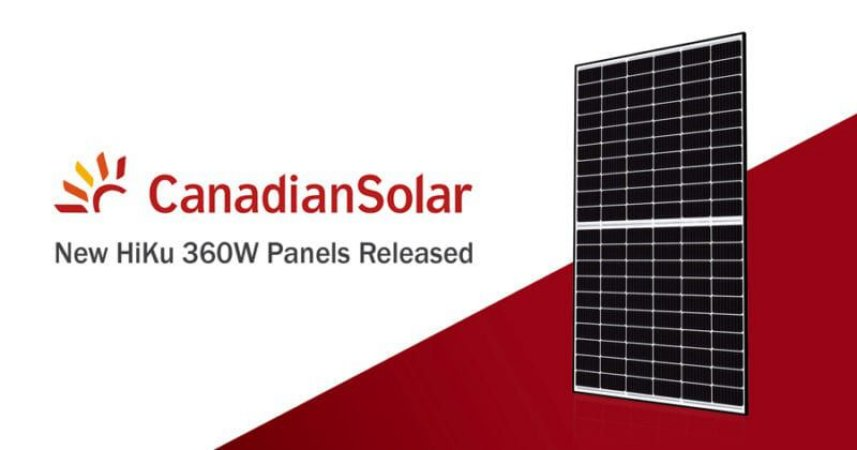 Módulo / painel / placa Solar Fotovoltaica 360w Canadian Policristalino