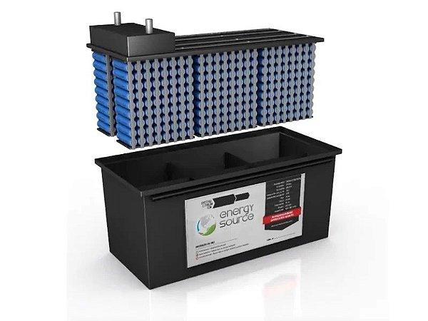 Bateria de Litio 24v 120A 3,1kwh Energy Source 1200 ciclos