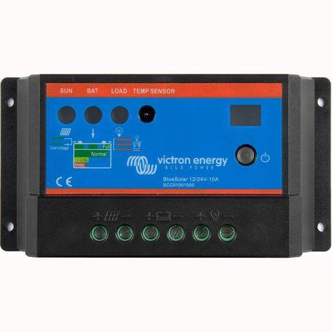 Controlador De Carga Solar 12v 24v Pwm 10A VICTRON