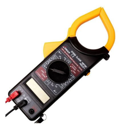 ALICATE AMPERIMETRO DIGITAL PRETO DT266 LEE TOOLS