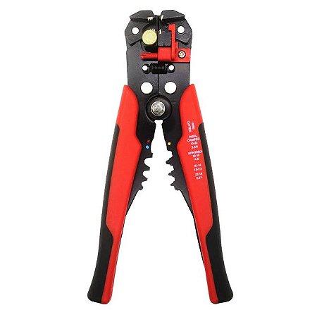 Alicate Descascador, cortador e crimpador de fio 0.2 a 6.0mm