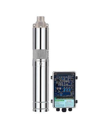 Bomba Solar ZM 500w 48v a 100v entrada painel solar e bateria altura máx 100 metros + kit acessórios 1400 litros hora