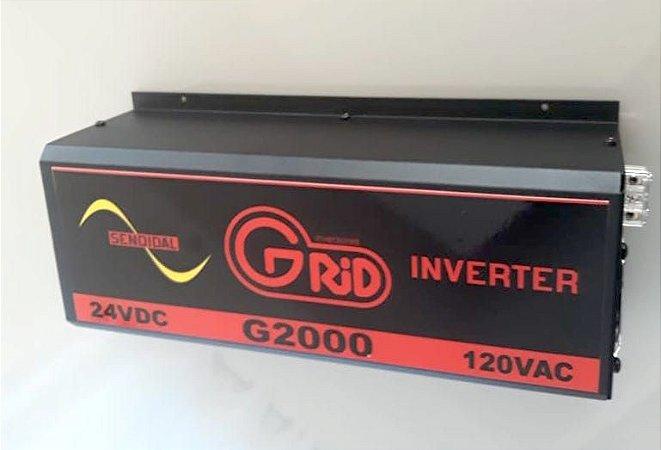 Inversor 2000w / 4000w 24v 120v Onda Senoidal Pura Grid 100% Nacional