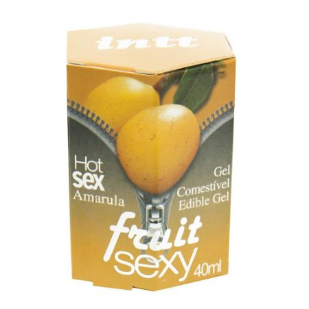 GEL COMESTÍVEL FRUIT SEXY AMARULA  40ML INTT