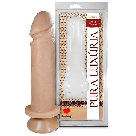 PÊNIS COM VENTOSA 17 X 4CM SEXY FANTASY