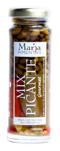 Conservas de Pimentas Gourmet Mix Picante