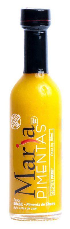 Molho de Pimentas Amarelo Brasil Premium