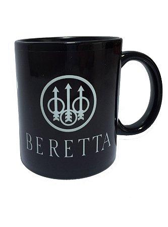 Caneca Beretta Fire Arms em Porcelana Preta 325 ml - Especializada ... 94cedff8a70