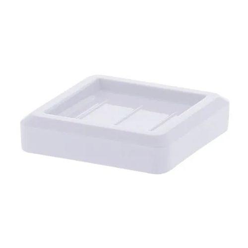Saboneteira Porta Sabonete Quadratta Branco 1566 Paramount