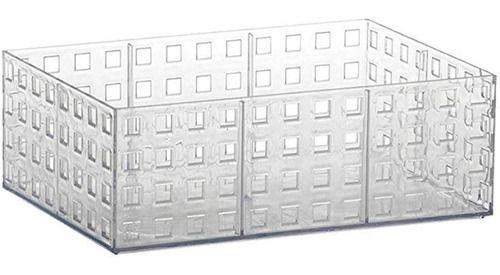 Organizador Empilhavel Transparente  23x16x8cm 840 Paramount