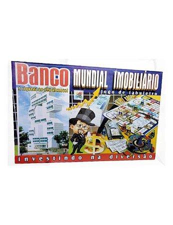 Jogo de Tabuleiro Banco Imobiliário Mundial 1685 Big Boy