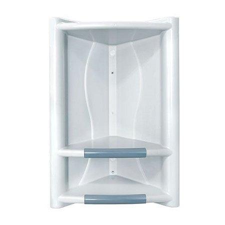 Cantoneira Grande Banheiro Shampoo Sabonete 25720 Arqplast