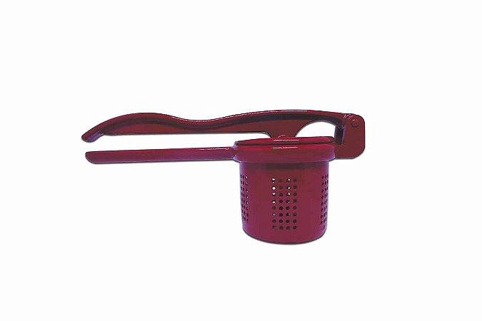 Espremedor De Batata Colors Vermelho P/ Cozinha - Alumínio