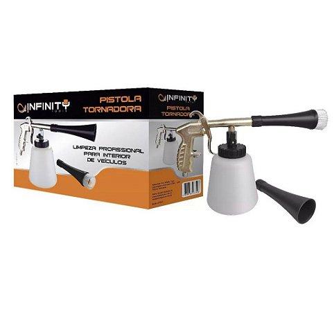 Pistola Tornadora de Limpeza p/ Inter. Veículos - Infinity Tools