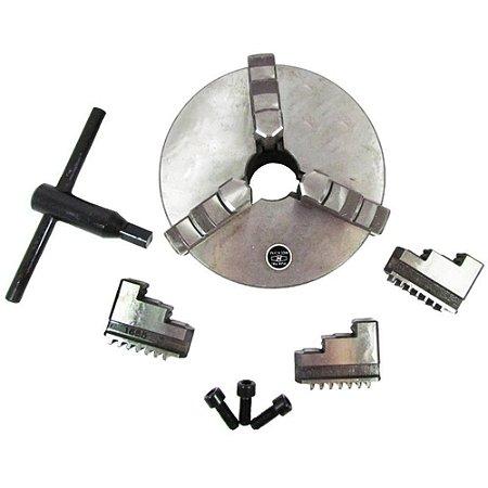 PLACA P/ Torno C/3 Castanhas 200mm 2GM EDA