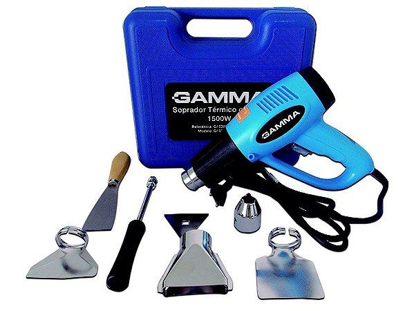 Soprador Térmico 2000w 550°c C/ Maleta E Kit Acessórios 220v