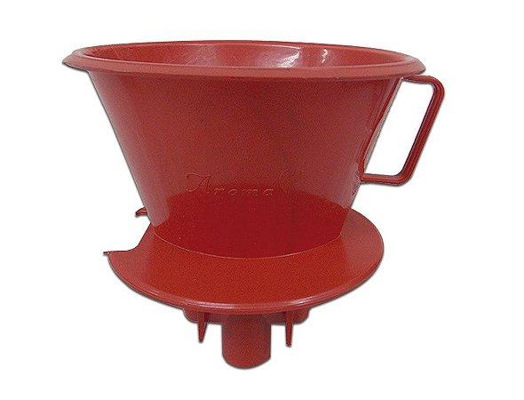 Suporte para Cuador de Café Vermelho