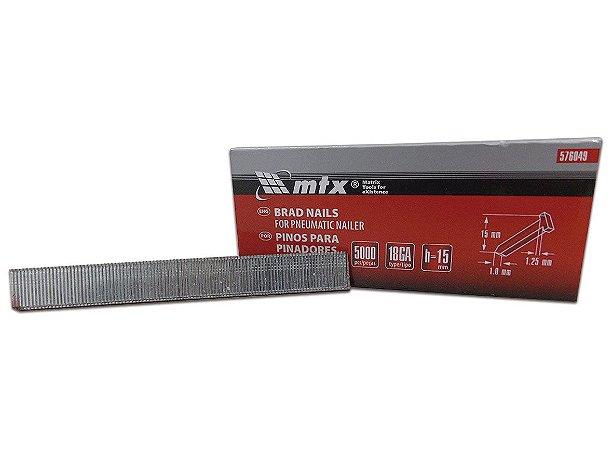 Pinos para Pinadores Pneumáticos 15mm x 1,25mm 576049 MTX