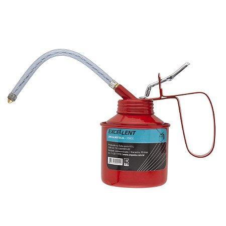 Almotolia Bico Flexivel P/ Lubrificação 250CC 2MO EDA