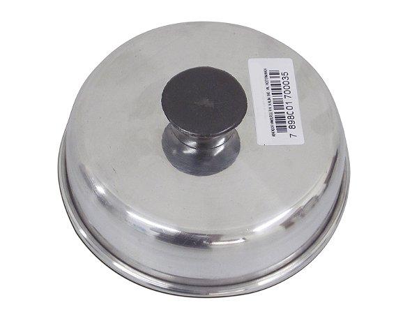 Abafador Hamburguer 14 x 4 cm em Alumínio - AAL