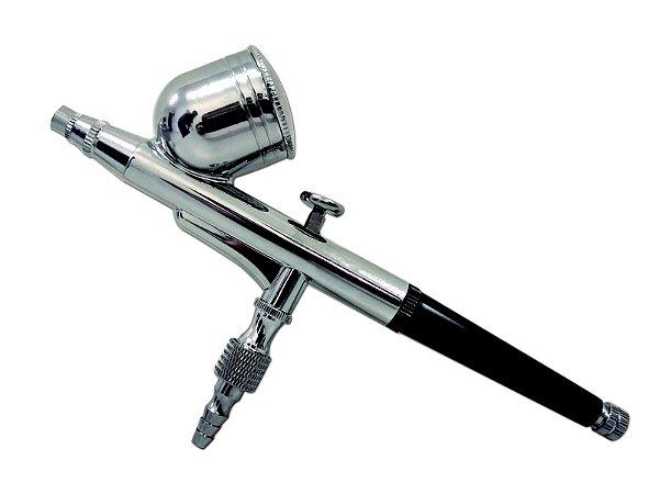 Aerógrafo Dupla Ação Copo Fixo 0,3mm OT