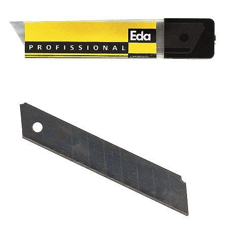 Laminas P/ Estilete 18mm C/10 Pçs 8TC EDA