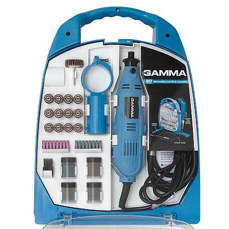 Microrretífica C/ Acessórios 252 Pçs 130W 220V G19502 Gamma
