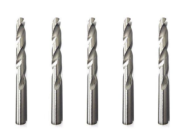 Broca De Aço Rápido P/ Metal 11 Mm Polida Kit 5 Pçs 720109 Mtx