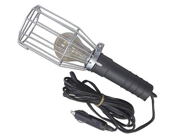 Pendente C/ Plug Acendedor e Lâmpada 12V Gaiola de Arame Est. Paulista