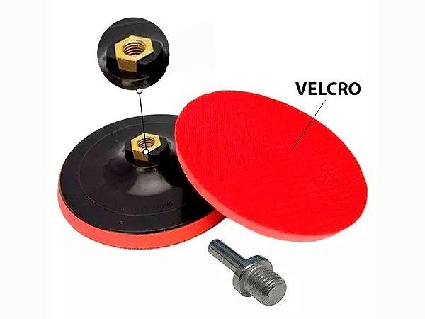 Suporte de Boina C/ Velcro P/ Furadeira 125mm 762209 Mtx