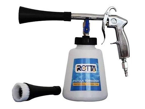 Pistola Tornadora Pneumática De Limpeza Rotta