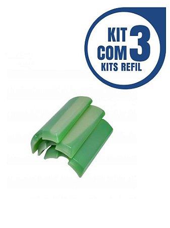 Kit 3 pçs Gel Congelante P/ Cervegela Elite Premium