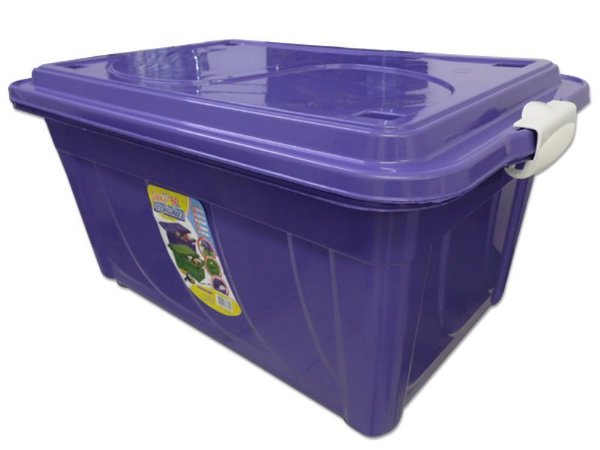 Caixa Organizadora 60 Litros Multiuso Roxa Agraplast