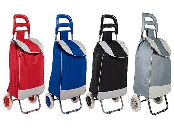 Carrinho de Compras Leva Tudo Bag To Go Colors Mor