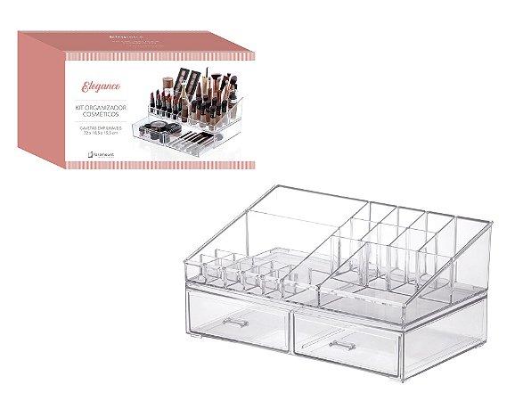 Kit Organizador Cosméticos 32x18,5x15,5cm 1094 Paramount