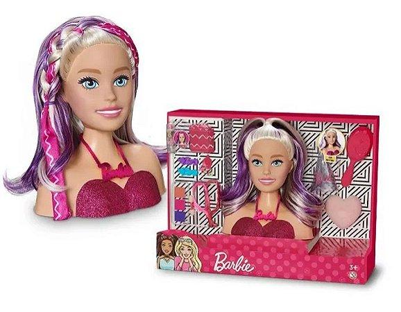 Boneca Barbie Maquiagem Styling Faces 1265 Pupee