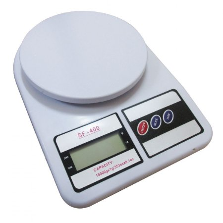 Balança Digital Cozinha 10kg Precisão Dieta Fitness + Brinde