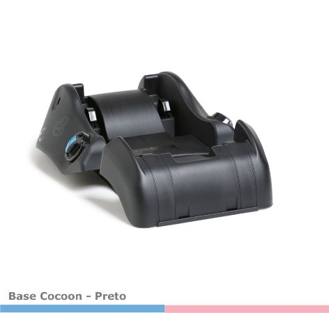 Base P/ Bebê Conforto Cocoon Preto 8185PT Galzerano