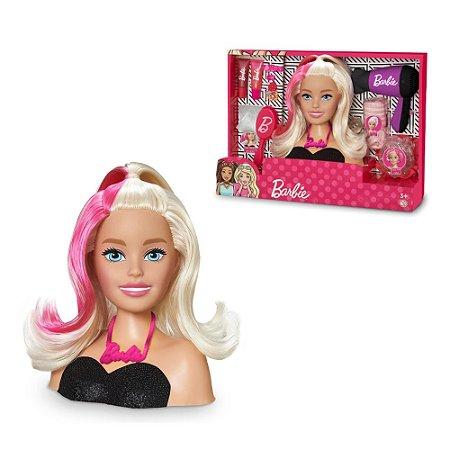 Busto Boneca Barbie Styling Head Hair 1264 - Pupee