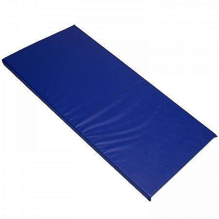 Colchonete Colchão P/ Academia 100x60x2,5cm Azul