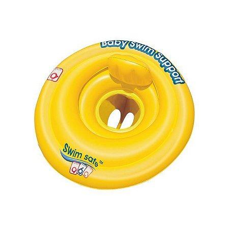 Boia Circular Swim Safe ABC C/ Assento Anatômico Para Bebe