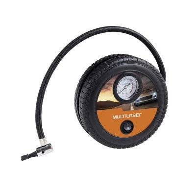 Compressor De Ar Roda 12v Vazão 15l/min 150psi 3 Bicos