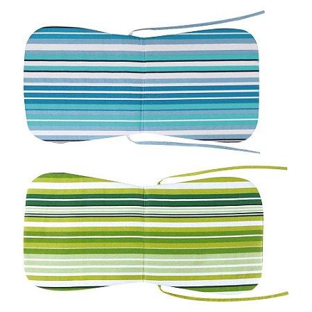 Almofada Para Cadeiras De Praia e Plásticas Com Encosto
