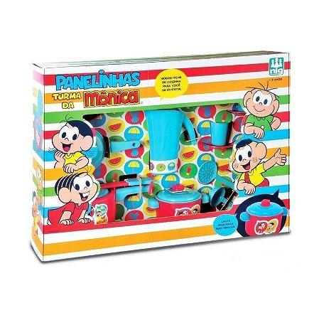 Cozinha Infantil Completa Panelinhas Turma Da Monica Nig